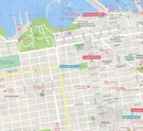 Stadsplattegrond City map San Francisco | Lonely Planet