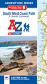 Wandelkaart 2 Adventure Atlas South West Coast Path North Cornwall | A-Z Map Company