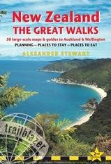Reisgids - wandelgids - New Zealand The great walks - Nieuw Zeeland | Trailblazer