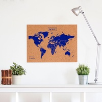 Woody Map L Blauw