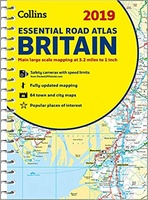 Britain Essential Road Atlas 2019