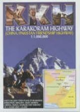 Wegenkaart - landkaart Karakoram Highway | KKH -  open road guides