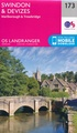 Wandelkaart - Topografische kaart 173 Landranger  Swindon & Devizes, Marlborough & Trowbridge | Ordnance Survey