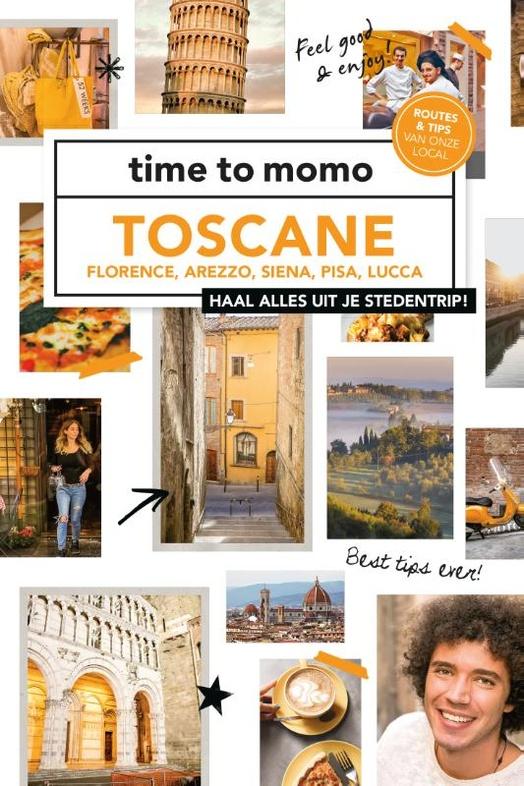 Reisgids Time to momo Toscane   Mo'Media (ISBN 9789057679544)