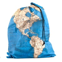 Reiszakken Around the World Travel Bag Set | Kikkerland