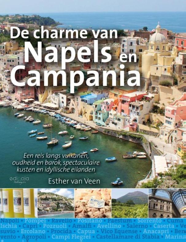 Reisgids De charme van Napels en Campania | Edicola (9789491172892)