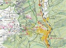 Wandelkaart Carpathians' bend (five mountains)  | Dimap