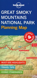 Wegenkaart - landkaart Planning Map Great Smoky Mountains National Park | Lonely Planet