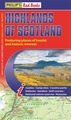 Wegenkaart - landkaart Highlands of Scotland | Philip's