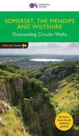 Wandelgids 21 Pathfinder Guides Somerset, Wiltshire & the Mendips    | Ordnance Survey