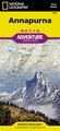 Wandelkaart 3003 Trails Illustrated Trekking map  Annapurna - Nepal | National Geographic