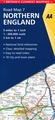 Wegenkaart - landkaart 7 Road Map Britain  Northern England  | AA