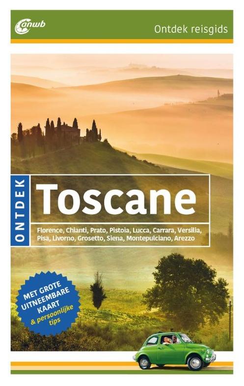 ANWB Reisgids Ontdek Toscane | ANWB Media | €18,95