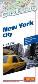 Stadsplattegrond City Flash New York  | Hallwag