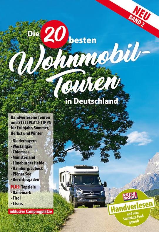 campergids band2 die 20 besten wohnmobil touren in deutschland reisemobil 9783928803823. Black Bedroom Furniture Sets. Home Design Ideas
