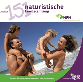 Campergids 151 naturistische familiecampings 2014 | Alan Rogers