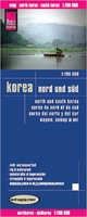 Wegenkaart - landkaart Korea zuid en noord - North and South Korea | Reise Know how