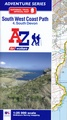 Wandelatlas 4 Adventure Atlas South West Coast Path South Devon | A-Z Map Company