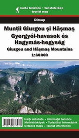 Wandelkaart Giurgeu and Hasmas Mountains  | Dimap
