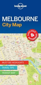Stadsplattegrond City map Melbourne | Lonely Planet