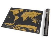 Scratch Map de Luxe Travel Edition (black) | Luckies