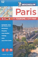 Parijs - Paris city map