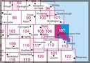 Wandelkaart - Topografische kaart 107 Landranger Kingston upon Hull, Beverley & Driffield | Ordnance Survey