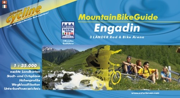 Mountainbikegids - Opruiming Bikeline Mountainbikeguide Engadin | Esterbauer