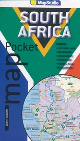 Wegenkaart - landkaart Pocket map South Africa Zuid Afrika  | MapStudio