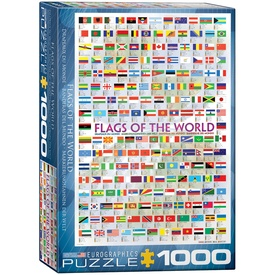 Legpuzzel Flags of the world - vlaggen van de Wereld | Eurographics