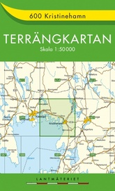 Wandelkaart - Topografische kaart 600 Terrängkartan Kristinehamn | Lantmäteriet