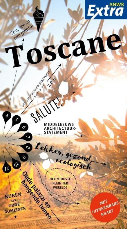 Reisgids ANWB extra Toscane | ANWB Media (ISBN 9789018043261) | €12,99