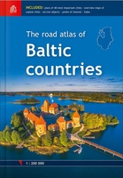 The Road atlas of Baltic countries 2018 - Baltische Staten