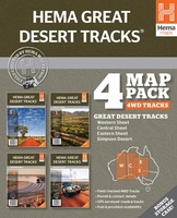 Great Desert Tracks 4 Map Pack