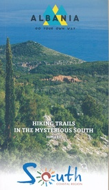 Wandelgids Hiking trails in mysterious south Albania  | Vektor