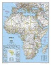 Magneetbord Afrika, politiek, 91 x 118 cm | National Geographic
