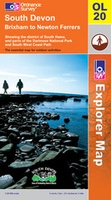 20 Wandelkaart South Devon OLM 20 | Ordnance Survey