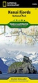 Wandelkaart 231 Trails Illustrated Kenai Fjords National Park | National Geographic
