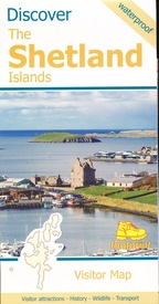 Wegenkaart - landkaart Discover the Shetlands Islands | Footprint maps