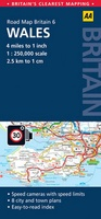 06 Wegenkaart - Road Map Britain 6 Wales | AA Publishing