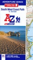 Wandelkaart 5 Adventure Atlas South West Coast Path  - Dorset | A-Z Map Company
