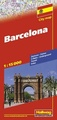 Stadsplattegrond City Map Barcelona | Hallwag