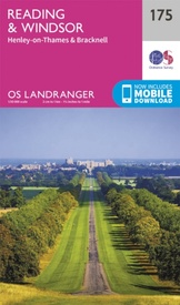 Wandelkaart - Topografische kaart 175 Landranger  Reading & Windsor, Henley-on-Thames & Bracknell | Ordnance Survey