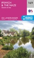 Wandelkaart - Topografische kaart 169 Landranger Ipswich & The Naze, Clacton-on-sea | Ordnance Survey