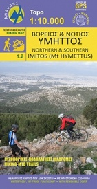 Wandelkaart 1.2 Northern and Southern Imitos (Mt. Hymettus) | Anavasi