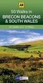 Wandelgids 50 Walks in  the Brecon Beacons and south Wales | AA