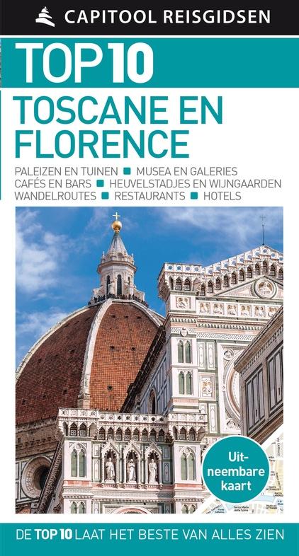 Reisgids Capitool Top 10 Toscane en Florence   Unieboek (ISBN 9789000356584)