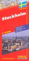 Stadsplattegrond City Map Stockholm | Hallwag