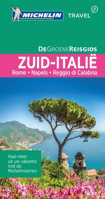 Reisgids Michelin groene gids Italië zuid | Lannoo | €22,99
