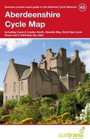 Fietskaart 45 Cycle Map Aberdeenshire | Sustrans